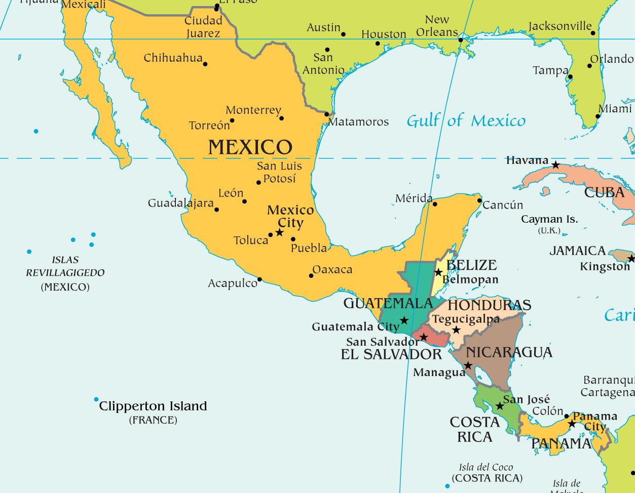 worksheet Central America Worksheet centralamerica jpg