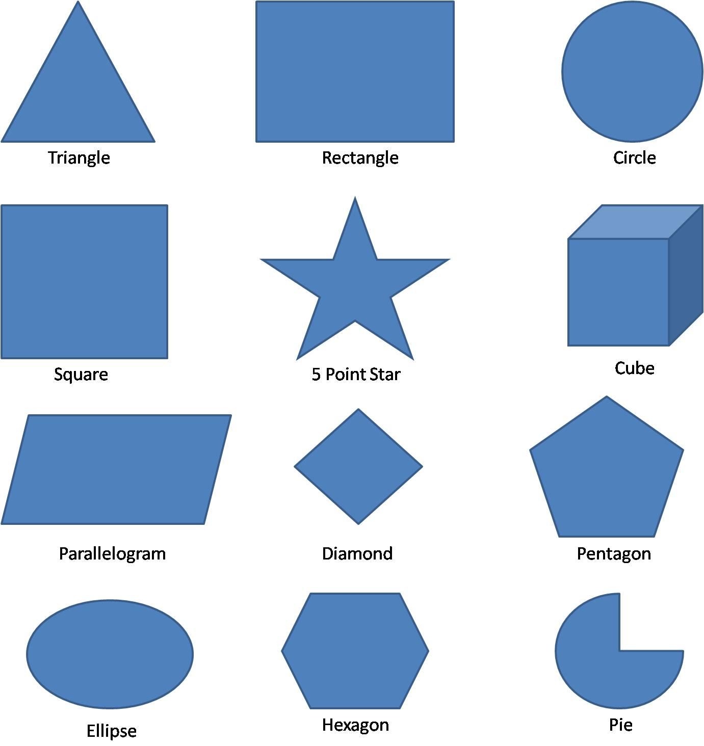 Worksheets Shape With Name shapes jpg